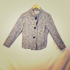 CAbi Grey High-Low Jacket